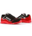 Zapato Laboral Sparco Nitro S3 Negro y Rojo