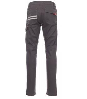 Pantalón laboral Worker espalda gris