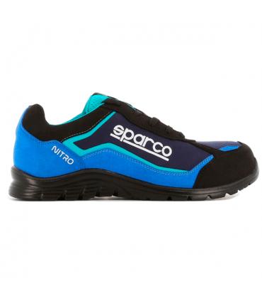Calzado de seguridad Nitro S3 Negro y Azul
