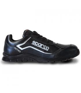 Calzado de seguridad Nitro S3 en piel negra