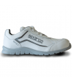 Calzado de seguridad Nitro S3 en piel blanca