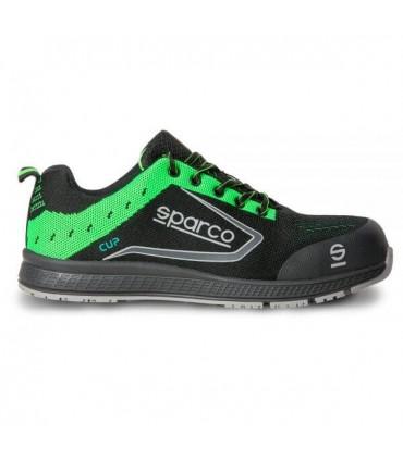 Calzado de seguridad Sparco Cup S1P Verde