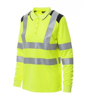 Polo de Alta Visibilidad Guard Lady Winter de Payperwear