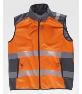 Chaleco Softshell de alta visibilidad S9231 de Workteam