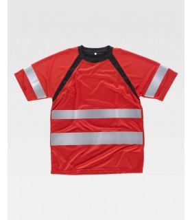 Camiseta cintas reflectantes C2940 de Workteam