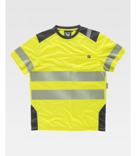 Camiseta de alta visibilidad C9241 de Workteam