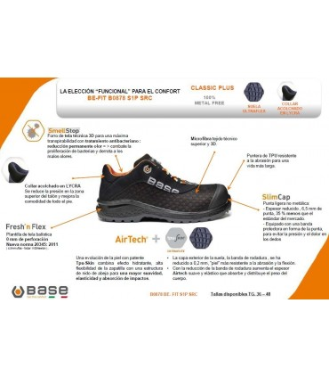 Zapato Be Fit