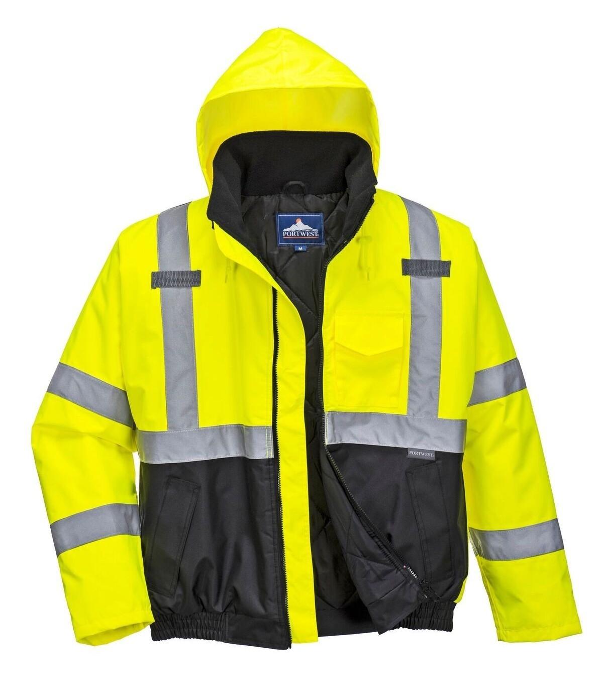 991160e6f93 Ecobenzropalaboral | Cazadora laboral de alta visibilidad, cálida e ...