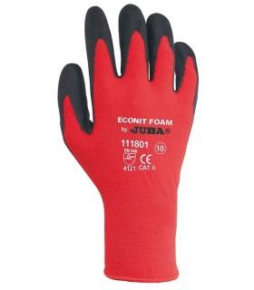Guante Rojo Econit Foam