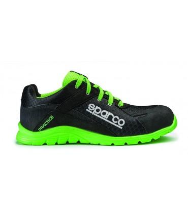 Sparco Practice Negro y verde P5